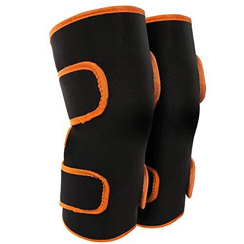 Elektrische Heizung Knieschützer - Pads Selbsterwärmung Warm Elektrische Heizung Doppelter Schutz Kniegelenkmassage Pflege Knie Protector Ärmel
