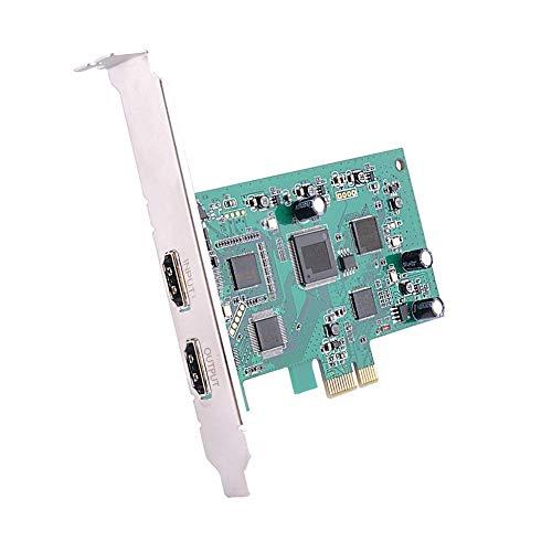 Remaxm Pcie Video Digitalisierungs Karte HDMI 4K 30P Input HD Videorekorder HDMI Ausgang für Windows Linux Hdmi-input-karte