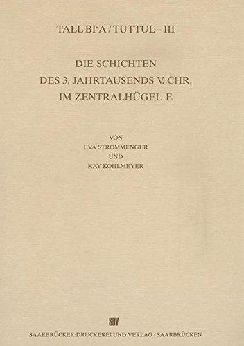 Tall Bi'a /Tuttul / Die Schichten des 3. Jahrtausends v. Chr. im Zentralhügel (Wissenschaftliche Veröffentlichungen der Deutschen Orient-Gesellschaft, Band 101)