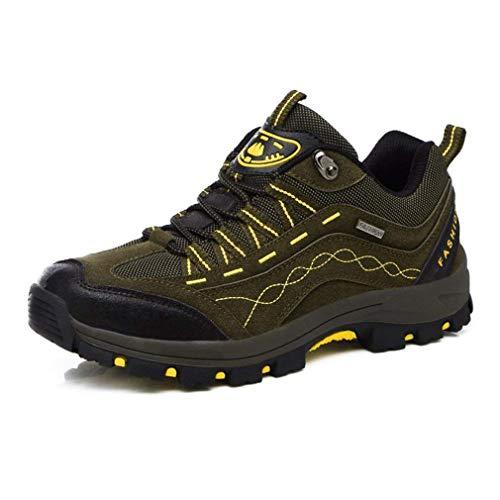 HhGold Bottes de randonnée, Chaussures de Plein air pour Hommes, Chaussures d'escalade de randonnée pour Femmes, Chaussures de Ski de Fond antidérapantes résistant à l'usure, (Couleur: C, Taille: 39)