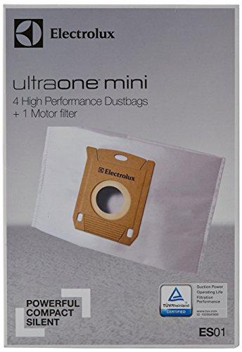 Electrolux ES01 Accessoires Aspirateur 4 Sacs Synthétiques + 1 Filtre Moteur