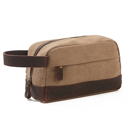 s-zone-vintage-leather-trim-high-density-water-resistance-canvas-unisex-toiletry-bag-portable-travel