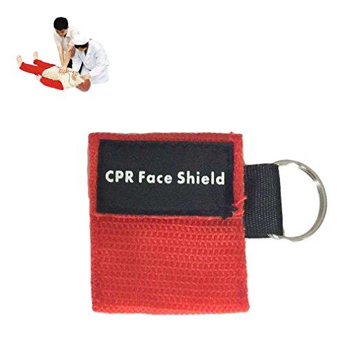 Erste Hilfe Mini CPR Keychain Maske / Gesichtsschutz Barrier Kit Health Care -