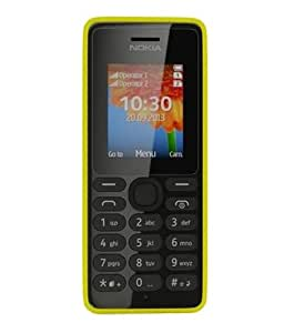 Nokia 108 (Dual SIM, Yellow)