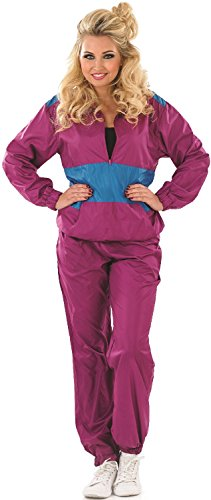 Women's Shell Suit Costume - Sizes 8 to 22