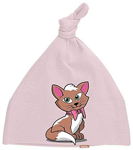 oten Kätzchen Schleife Tiere Kindergarten Inkl. Geschenk Karte Zuckerwatte Rosa ()