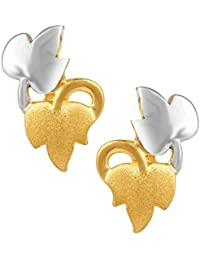 TBZ - The Original 22k Yellow Gold Stud Earrings
