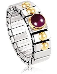 Nomination Women's Ring Small Like 1 Half in Tourmaline Pink 8pxkb