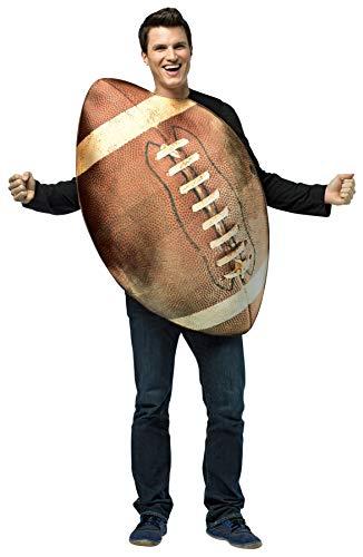 Rasta Imposta 6818 Braunes Get Real Football-Kostüm (Einheitsgröße)