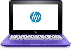 HP 11-aa001na 11.6-Inch IPS Convertible Notebook - (Aqua Blue) (Intel Celeron N3060 1.6 GHz, 2 GB RAM, 32 GB eMMC, Intel HD Graphics 400, Windows 10 Home)