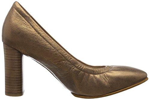 Clarks Damen Grace Eva Pumps Grau (Bronze/Metalic)