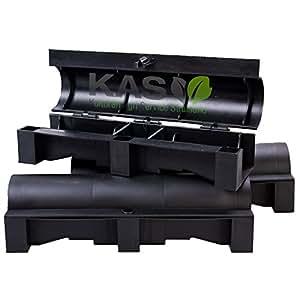 kas ratten und m use k derstation f r rattengift und m usegift 3 st ck garten. Black Bedroom Furniture Sets. Home Design Ideas