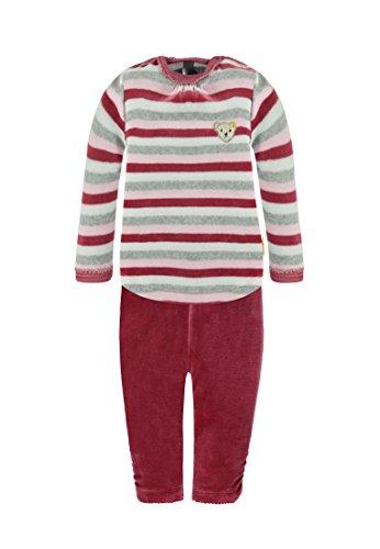 Steiff Collection Mädchen Bekleidungsset Schlafanzug 2tlg., Gr. 80, Rosa (barely pink 2560)