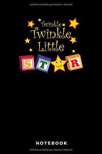 Twinkle Twinkle Little Star Notebook: A5 Blanko Notizbuch für Katzen und Haustierfreunde, Geschenk zum Jahrestag, Valentinstag, Hochzeitstag oder Weihnachten -