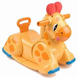 playskool 91411860 jouet premier age chaise bascule swinguie la girafe. Black Bedroom Furniture Sets. Home Design Ideas