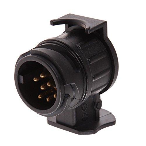 AIJICHE 12V 13A 7-Pin Adaptador Enchufe eléctrico