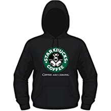 Creepyshirt - GOT - GAME OF THRONES INSPIRED - STARKBUCKS COFFEE HOODIE