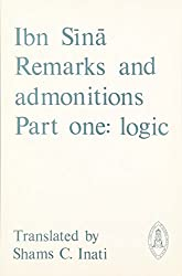 Remarks and Admonitions, Part 1: Logic (Mediaeval Sources in Translation)