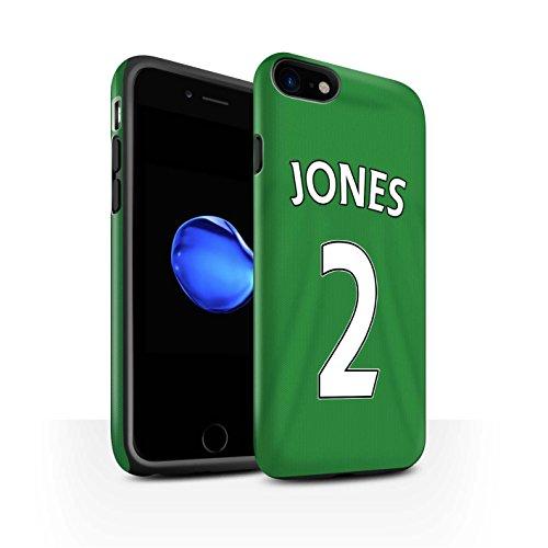 Offiziell Sunderland AFC Hülle / Matte Harten Stoßfest Case für Apple iPhone 7 / Jones Muster / SAFC Trikot Away 15/16 Kollektion Jones