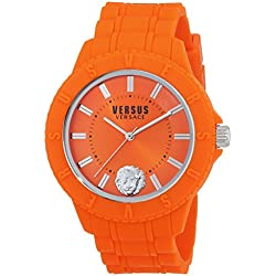 Versus Tokyo_R Unisex Quartz Watch with Orange Dial Analogue Display - SOY100016