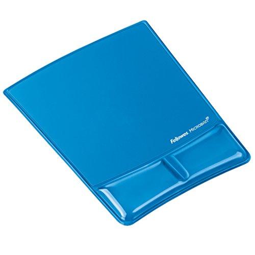 Fellowes Health-V Crystals Handballenauflage mit Mauspad blau -