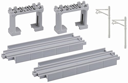 Pla elevated rail line (input, block piers two (gray) with two) R-26 (japan import)