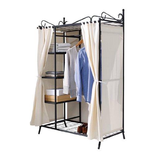 armario-de-ropa-breezy-con-estructura-metalica-y-cubierta-de-algodon-beige-negro-aprox-ancho-109-x-f