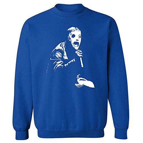 Youth Kids Kinder Corey Taylor Slipknot mit Maske Iconic Rock Rundhalsausschnitt Sweatshirt Gr. X-Large, ()