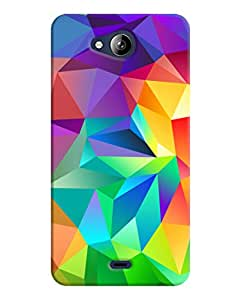 Back Cover for Micromax Canvas Play Q355