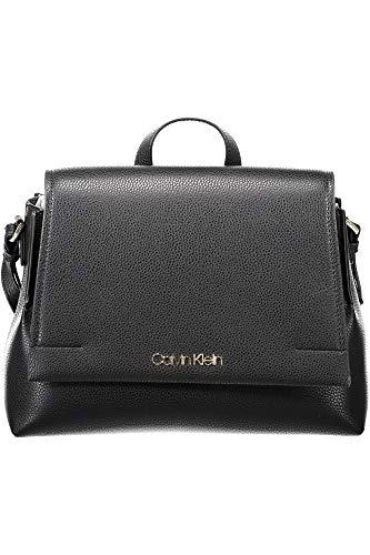 Borsa Donna a Mano Con Tracolla | Calvin Klein Jeans | K60K605029001-Black (Calvin Klein Trolley)