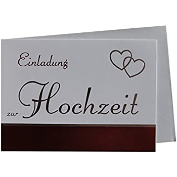 Einladungskarten Klappkarten Hochzeit Ohne Innentext 91 7359