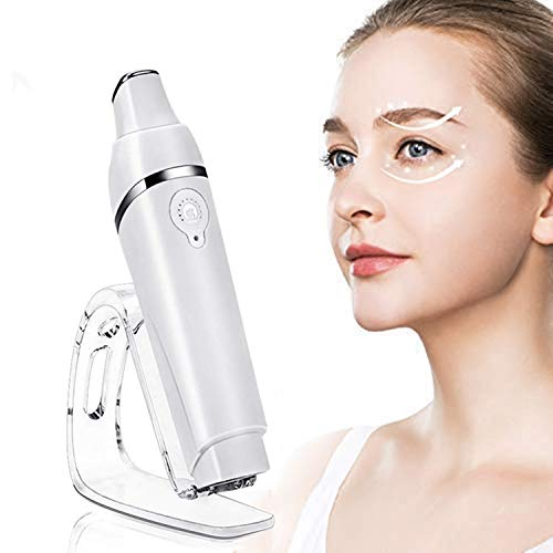 Ultrasuoni Massaggiatore per il contorno occhi,massaggiatore occhi sonico,importazione di anioni,ricaricabile anti rughe occhi trattamento apparecchio e a onde galvaniche per occhiaie e borse