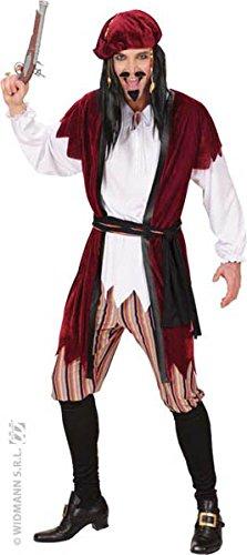 Homme Kostüm Pirat - Widmann Aptafêtes--Kostüm Pirat der Karibik