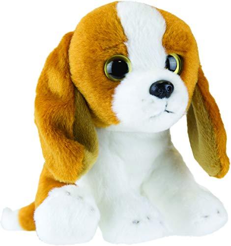 Suki Gifts 12808 Yomiko Babies 12808 - Kuscheltier Basset Hound Hund, mehrfarbig -