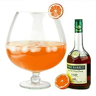 Grande Brandy Glass 256oz / 7.2ltr | Giant Brandy Glass, Novelty Brandy Glass, Extra Large Brandy Glass - Ideal as a Punch Bowl or Vase