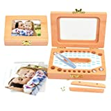 Baby Zähne Box speichern Organizer Speicher DeciduousTooth speichern Veranstalter Halter Permanent Preservation Souvenir Box für handgemachte Andenken
