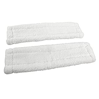 First4Spares Microfibre Cleaning Pads Cloths For Karcher Window Vacuums Pack of 2