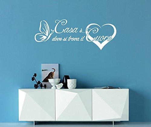 Scritte Adesive Da Muro.Arredi Murali Adesivi Murali Frase Casa Decorazioni Da Parete Scritte Da Muro Adesive Adesivi Da Parete Amore Per La Casa