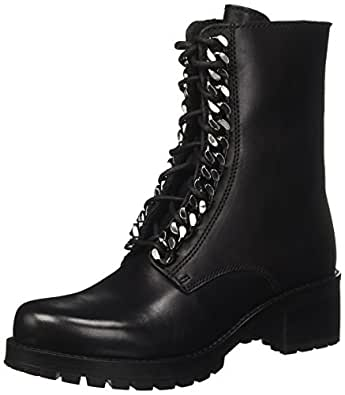 Cult Metallica MID 1804, Anfibi Donna, Nero (Black), 36 EU
