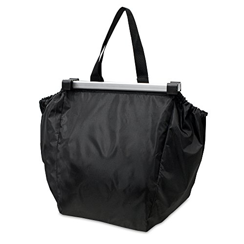 achilles®, Easy-Shopper ALU, AD101Abl, Faltbare Einkaufswagentasche, schwarz, 33 x 39 x 54 cm