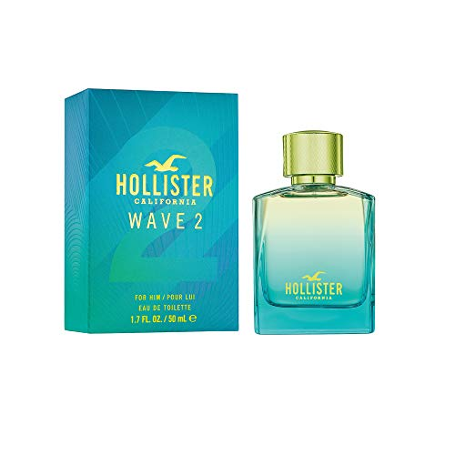 Wave 2 For Him Eau De Toilette Spray 50Ml - Parfüm Hollister