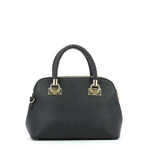 LIU JO ANNA SHOPPING BAG N67083E0087-22222 Black Multicolore