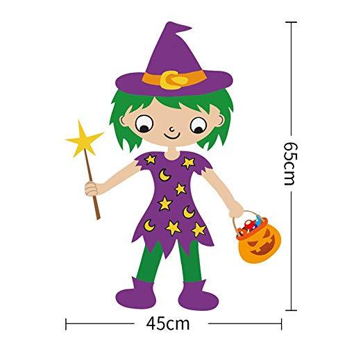 FXCCHEN Halloween Dekoration Ist Geeignet Für Bar Kindergarten Klassenzimmer Szene Layout Anhänger, E