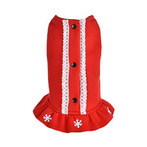 Moodn Hunde Herbst Winter Coat Kleidung Mode Weihnachten Halloween Apparel Kostüm Für Haustiere Party Kleidung Paisley Princess Pullover Reizende Strickpullover Haustier Kleidung Festlich Costume
