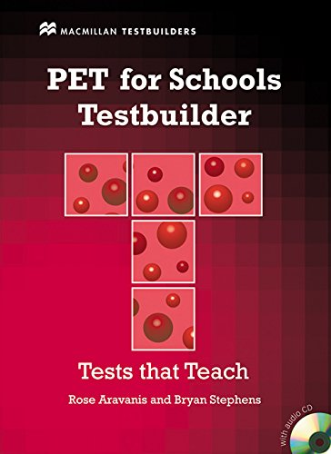 Pac-cd (PET for Schools Testbuilder Student's Book with key & CD Pac (MacMillan Testbuilders))