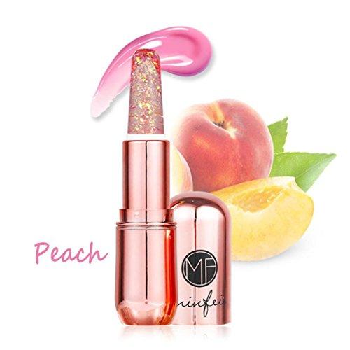 IGEMY 6 Farben Optional Bright Crystal Jelly Lippenstift, Dream Diamond Temperatur ändern Farbe...