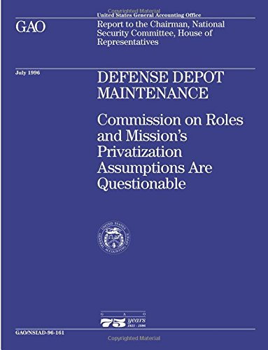 NSIAD-96-161 Defense Depot Maintenance: Commission on Roles and Mission's Privatization Assumptions Are Questionable