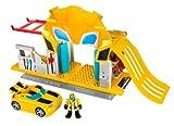 Transformers Playskool 330611480 Bumblubee con circuito e garage