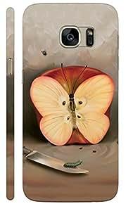 KALAKAAR Printed Back Cover for Samsung Galaxy S7 edge,Hard,HD Matte Quality,Lifetime Print Warrenty