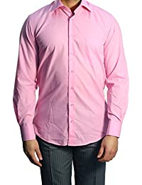 Muga chemise manches longues, Pink